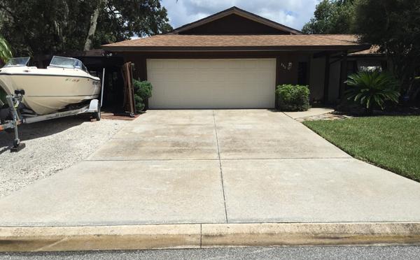Sarasota driveway pressure washing