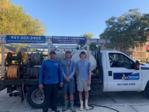 Sarasota commercial roof cleaning